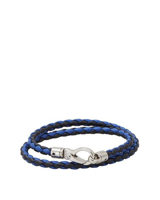 Tod's - Blue Mycolors Bracelet In Leather - Lyst
