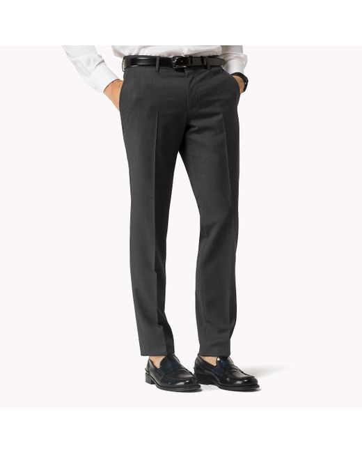 Tommy Hilfiger | Gray Suit Separate Fitted Trousers for Men | Lyst