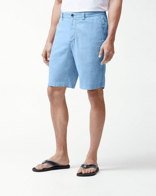 Tommy Bahama - Blue Beach Linen 10-inch Shorts for Men - Lyst