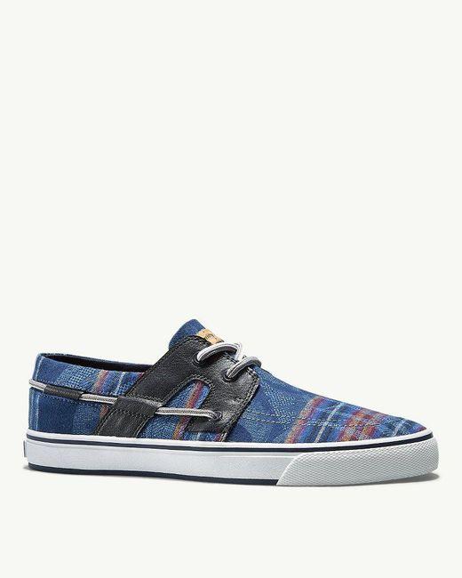 Tommy Bahama - Blue & Pendleton® Stripe Breaker Lace-up Shoes for Men - Lyst