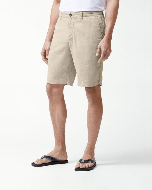 Tommy Bahama - Natural Beach Linen 10-inch Shorts for Men - Lyst