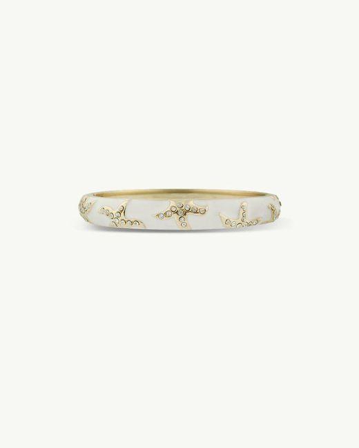 Tommy Bahama - White Small Rhinestone Starfish Enamel Bracelet - Lyst