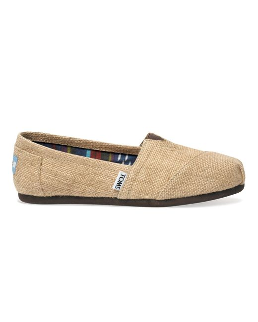 Toms Burlap Men S Shoes