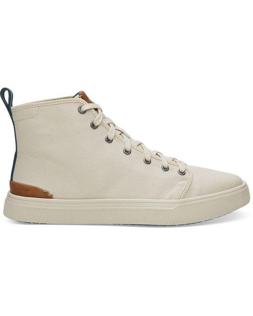 e30b52ec6f1 TOMS - Multicolor Birch Canvas Men s Trvl Lite High Sneakers for Men - Lyst  ...