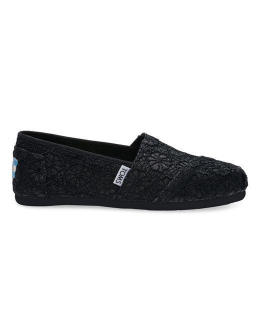 TOMS   Blue Classic Boucle Slip-on Shoe   Lyst
