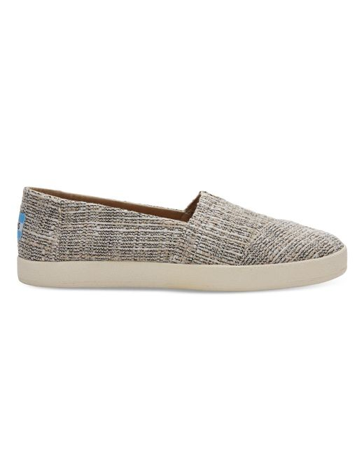 TOMS | Oxford Tan Multicolor Tweed Women's Avalon Slip Ons | Lyst
