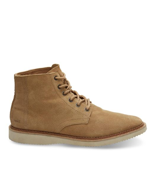 TOMS | Brown Toffee Suede Men's Porter Boots for Men | Lyst