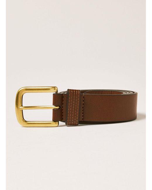 Topman - Brown Tan Jeans Belt for Men - Lyst
