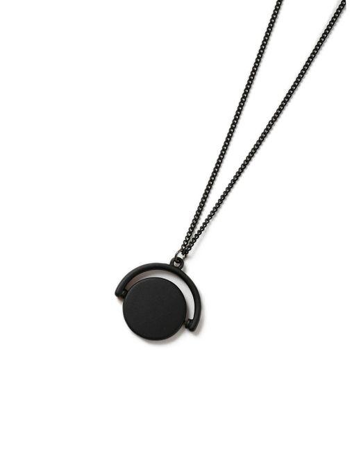 Topman | Black Spinner Necklace* for Men | Lyst