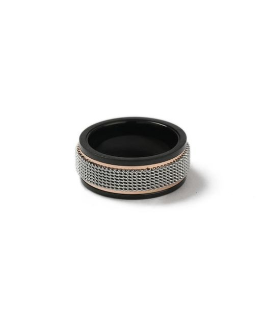 Topman | Metallic Silver Chain Ring* for Men | Lyst