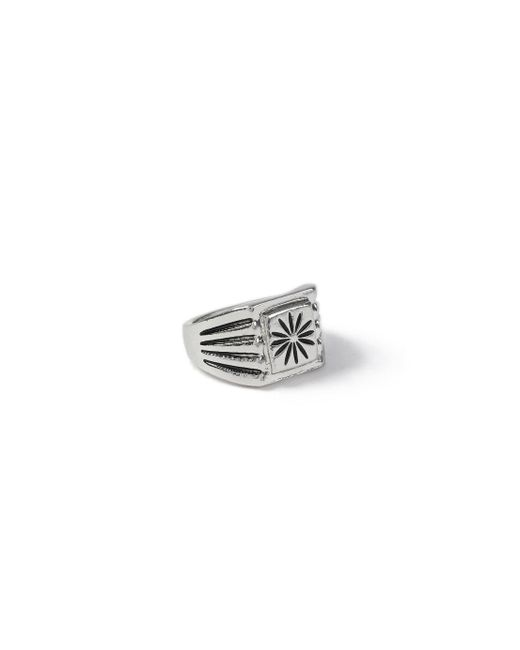 Topman - Metallic Silver Star Ring for Men - Lyst
