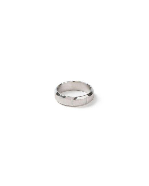 Topman - Gray Tainless Steel Ring for Men - Lyst