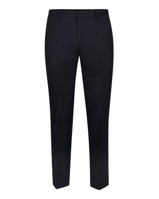 Topman | Blue Navy Birdseye Skinny Pants for Men | Lyst