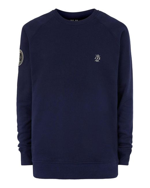 Jog On - Blue Navy Super Soft Sweatshirt* for Men - Lyst