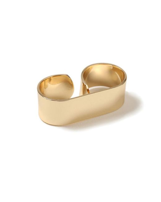 Topman - Metallic Gold Knuckle Ring for Men - Lyst