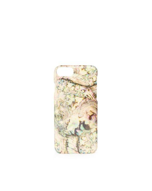 TOPSHOP | Metallic Marble Iphone 6/7 Case | Lyst