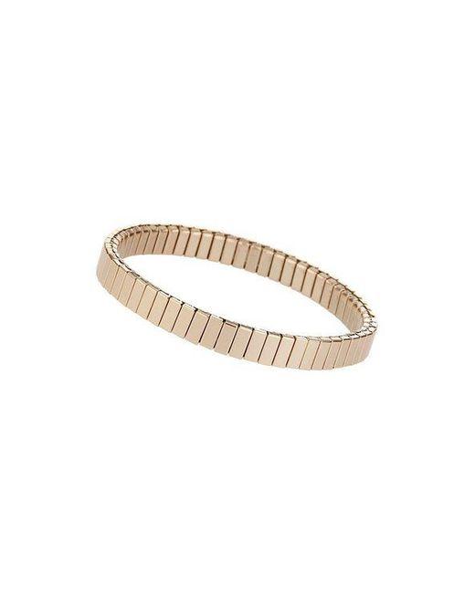 TOPSHOP - Metallic gold Ridge Stretch Bracelet - Lyst