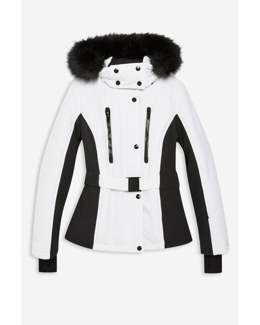 9b5a143cf9c5 ... TOPSHOP - Multicolor Colour Block Jacket By Sno - Lyst ...