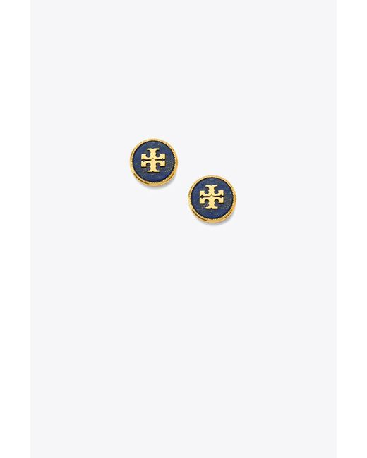 Tory Burch - Multicolor Semiprecious Stud Earring - Lyst