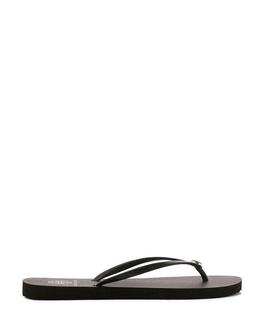 Tory Burch | Black Thin Flip-flop | Lyst