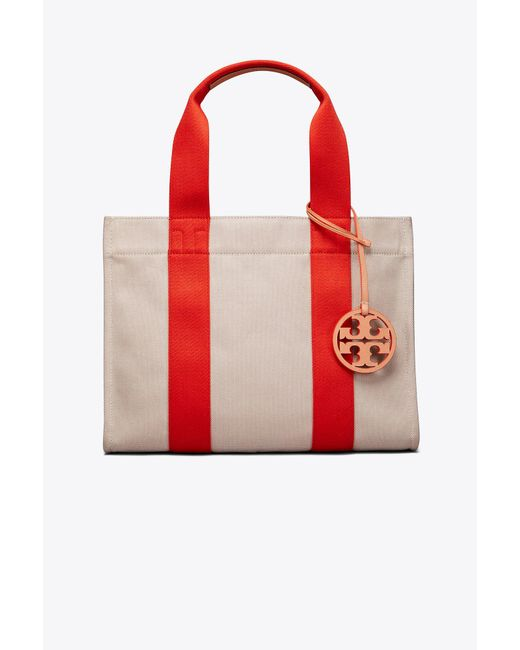 Tory Burch - Red Miller Canvas Tote - Lyst