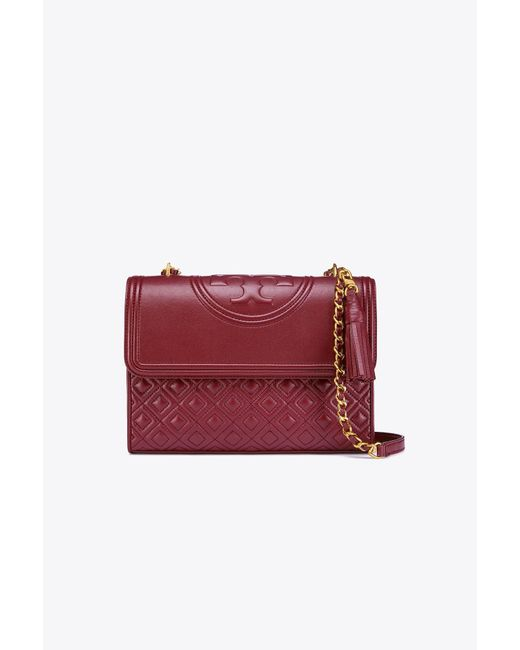Tory Burch | Multicolor Fleming Convertible Small Leather Shoulder Bag | Lyst
