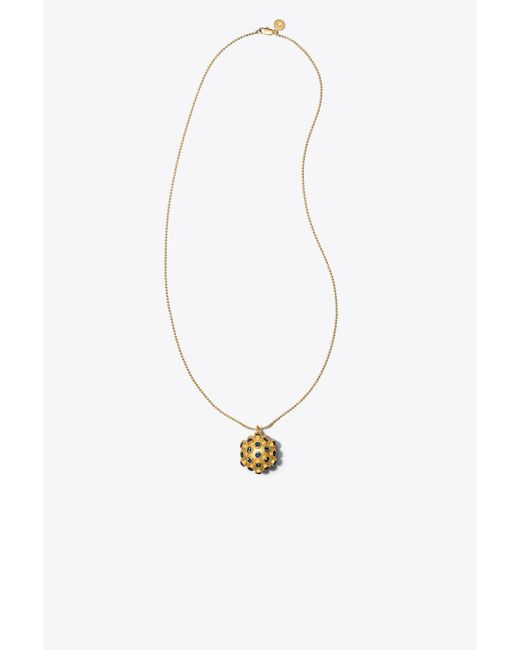 Tory Burch | Multicolor Celestial Locket Necklace | Lyst