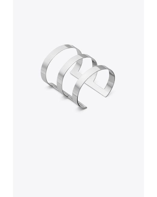Tory Burch - Metallic Bar Cuff - Lyst