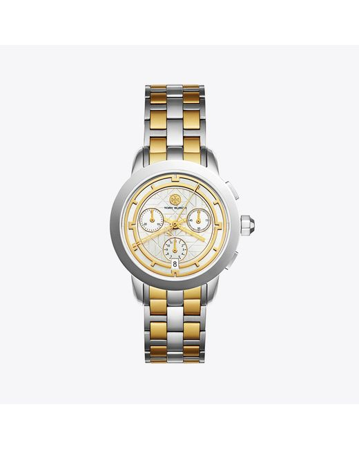 Tory Burch - Metallic Wrist Watch - Lyst