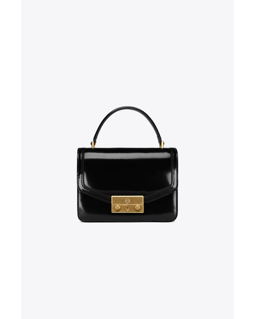 Tory Burch | Black Juliette Mini Top-handle Satchel | Lyst