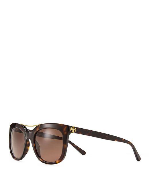 Tory Burch | Multicolor Bridge Square Sunglasses | Lyst