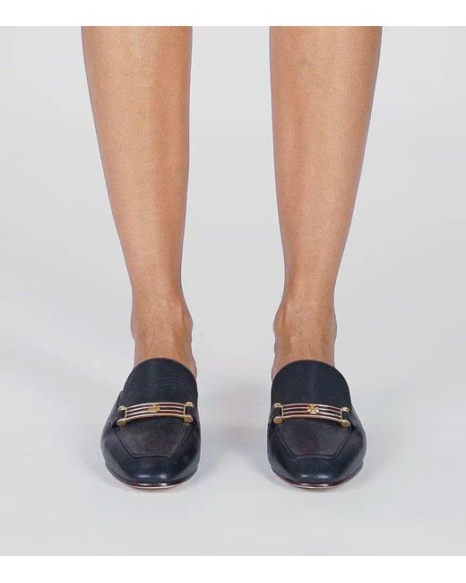 c41bc93c8 ... Tory Burch - Black Amelia Backless Loafer - Lyst