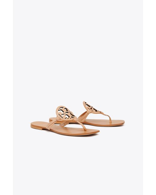 a78dab6d1bf821 Tory Burch - Multicolor Miller Square-toe Sandal