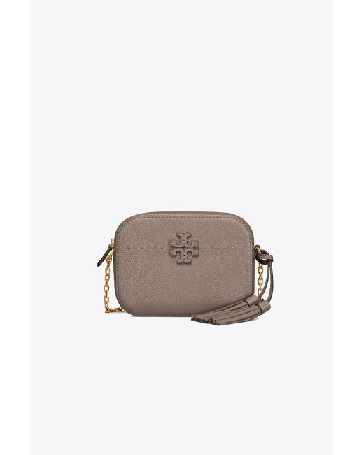 Tory Burch - Brown Mcgraw Leather Shoulder Bag - Lyst