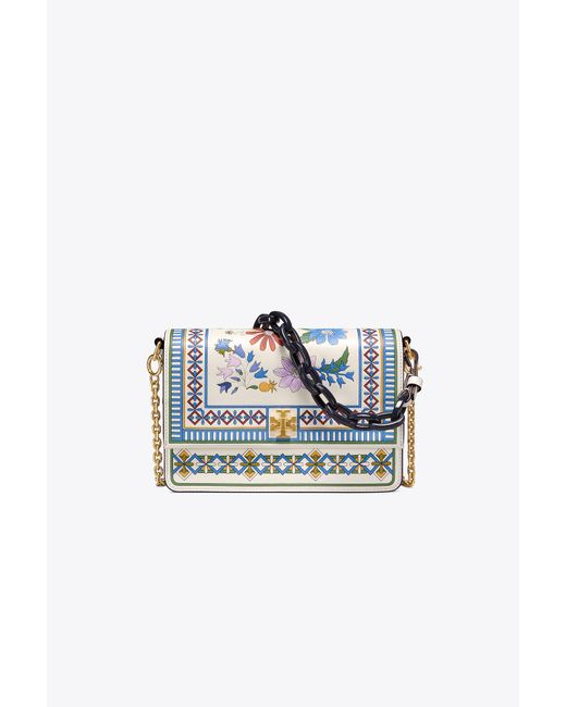 Tory Burch - Multicolor Kira Floral Shoulder Bag - Lyst