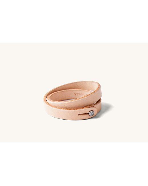 Tanner Goods - Natural Double Wristbands - Lyst