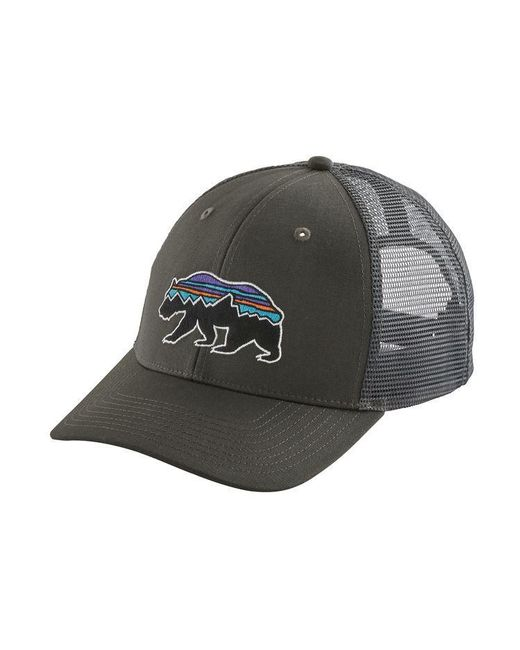 10a83b95e77 ... Patagonia - Multicolor Fitz Roy Bear Trucker Hat for Men - Lyst ...