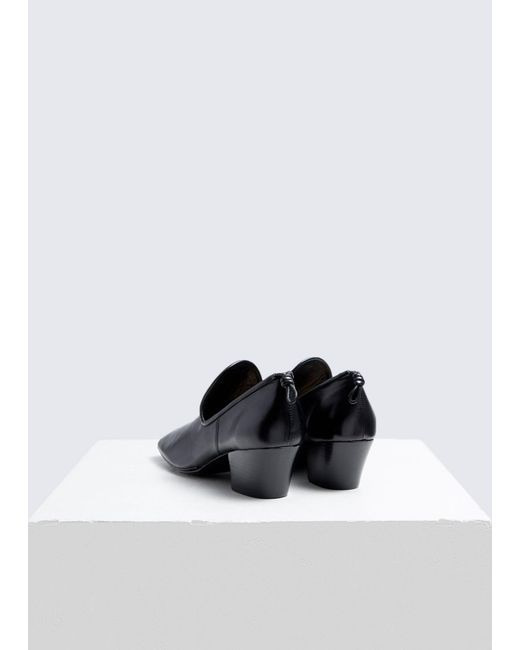 4712979580a Lyst - Lemaire Soft Heeled Loafer in Black - Save 43%