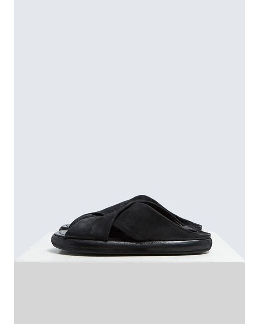 dbaf9ff2186 Marsèll - Black Ciambella Sandal for Men - Lyst ...