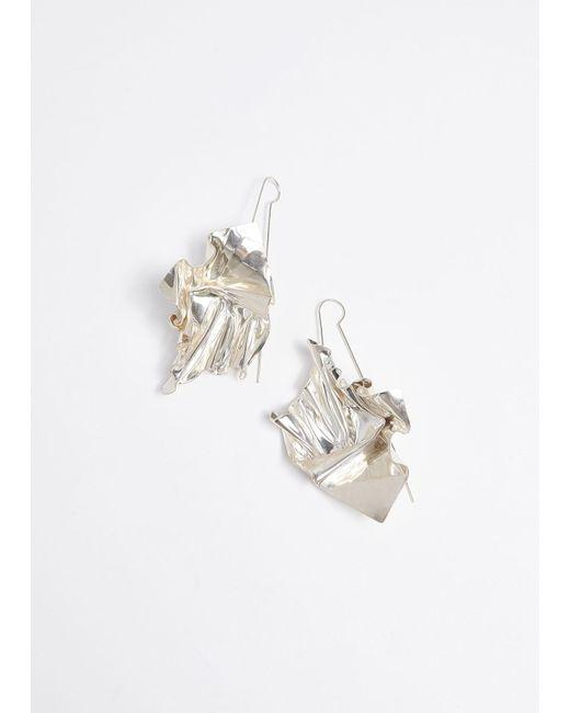 Closer by Wwake - Metallic Suspended Earrings - Lyst