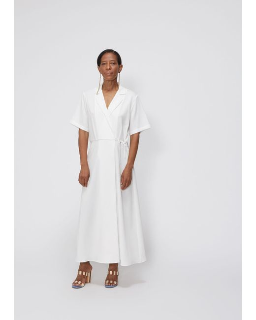 Shaina Mote White Mallorca Dress Lyst