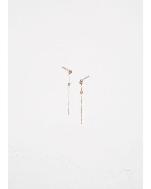 Wwake | Multicolor Two-stone Drop Earrings | Lyst