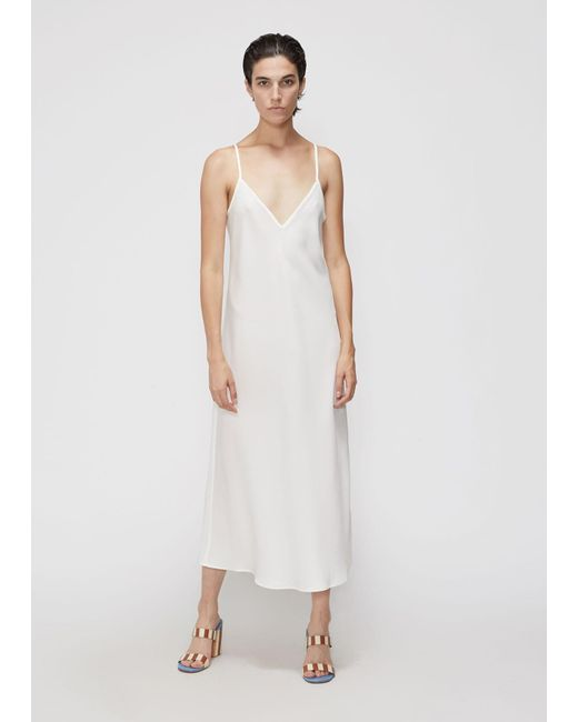 88794c22a76f Ellery - White Eleventh Hour Slip Dress - Lyst ...