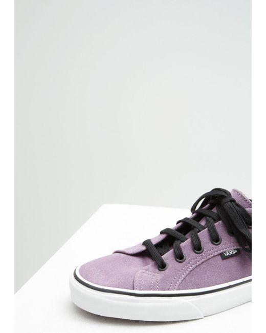 2d6a5d3eb0e28f ... Vans - Multicolor Suede Lampin Sneakers for Men - Lyst ...