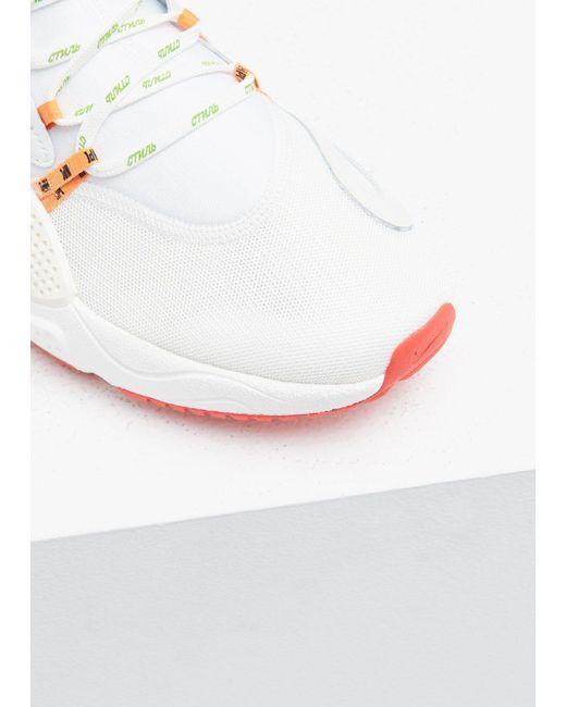 7f4cd22537a0e1 ... Nike - White Heron Preston Huarache E.d.g.e. Sneaker for Men - Lyst ...