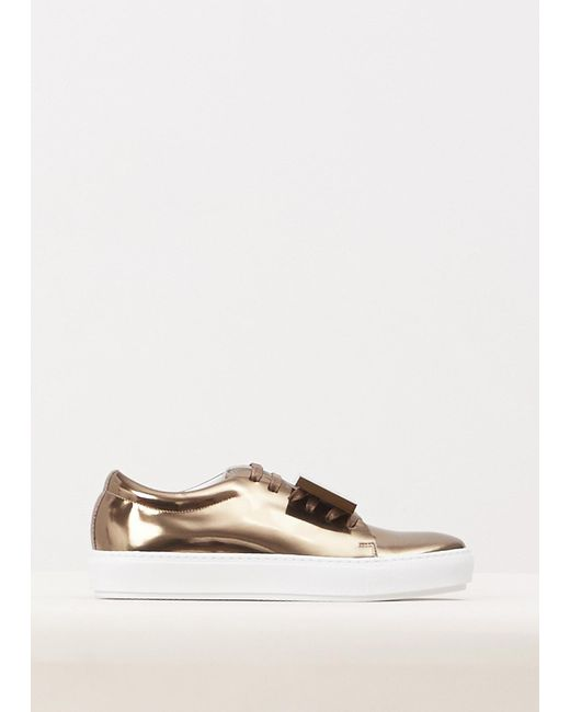 Acne | Multicolor Adriana Patent Leather Sneakers | Lyst