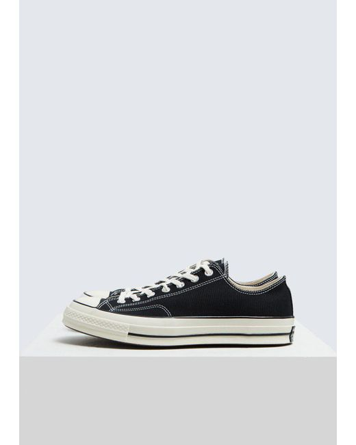f009637badc307 Lyst - Converse Chuck Taylor 70 Ox Low in Black for Men - Save 17%