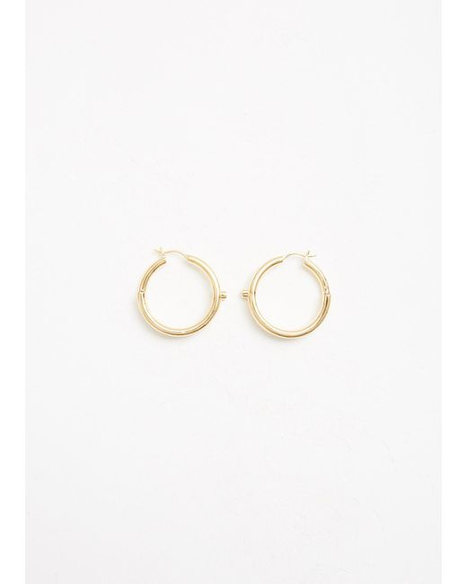 Maria Black | Metallic Genie Hoop Earrings | Lyst