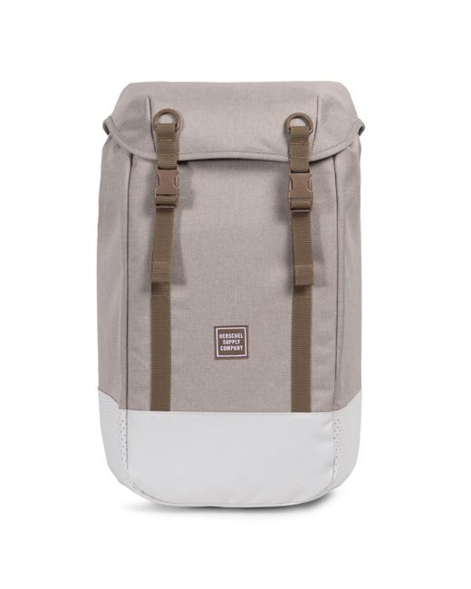Herschel Supply Co. - Natural Light Khaki Crosshatch Iona Backpack - Lyst