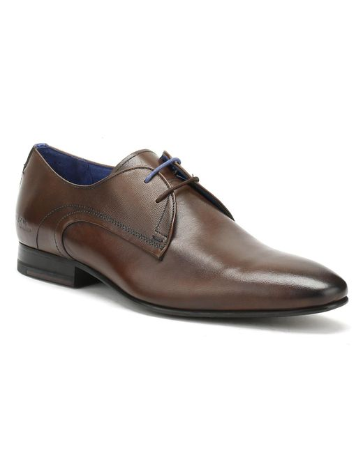 Ted Baker - Mens Brown Leather Peair Shoes for Men - Lyst